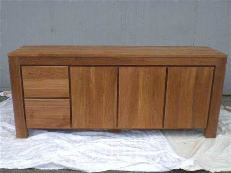 Tv kast dressoir 9 milaan webshop teakhuis for Houten meubels
